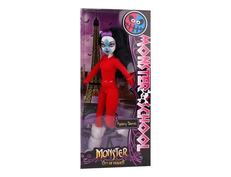 Как сделать куклу монстер хай из обычной куклы