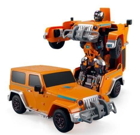 ИГРОТРЕЙД JQ6605 Робот-трансформер на радиоуправлении TROOPERS VELOCITY со звуком и светом в коробке от магазина ДЕТКИ